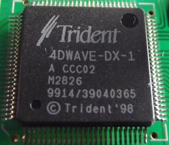 Trident 4Wave-DX-1 Chipset