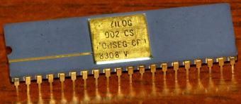 Zilog Z8002 CS CPU Monseg 8308-V 4MHz 1979