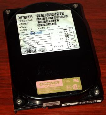 Conner CP30174E 170MB EIDE HDD 1992