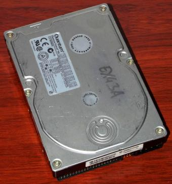 Quantum Fireball EX 4,3A IDE 4,3GB HDD Shock-Protection-System (SPS) 1998