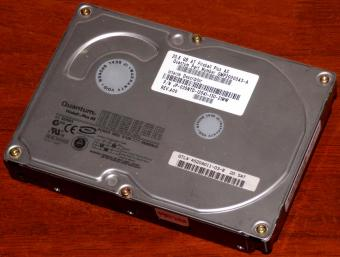 Quantum Fireball Plus AS IDE 20.5GB HDD AT Part-Number: QMP20000AS-A Funktion geprüft, 2MB Cache, agere 2000