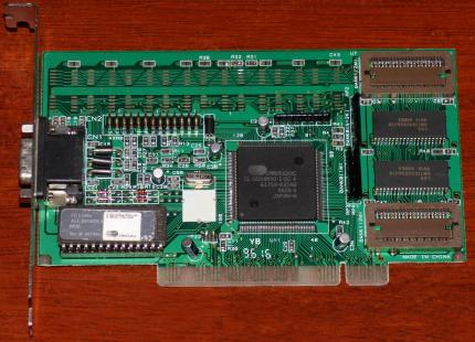 CL54M3X/M4X Cirrus Logic CL-GD54M30-I-QC-A GPU PCI 1996