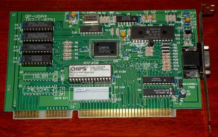 Chips and Technologies QP-VGA4