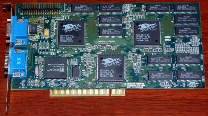 Creative Technology 3D Blaster Voodoo 2 3Dfx (CT6670) 12MB inkl. Kabel 1998