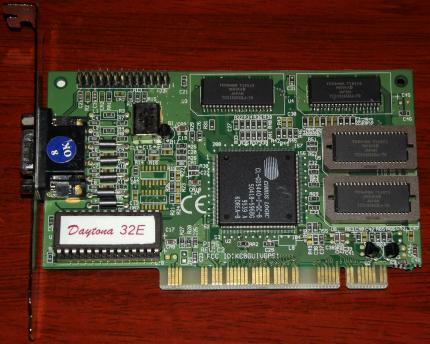 Daytona 32E P195 Rev. 2C Cirrus Logic CL-GD5440 FCC-ID: KC8GUIVGAS1 PCI 1997