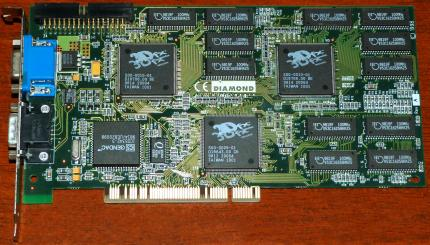 Diamond Monster 3D II PCI 12MB Voodoo 2 3Dfx 1998