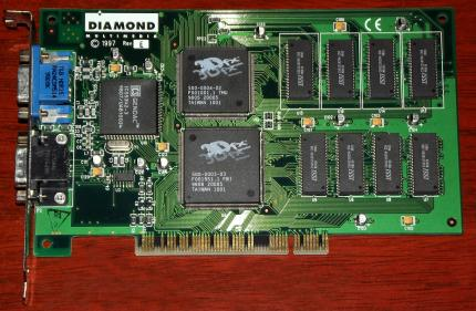 Diamond Monster 3D PCI 4MB 3Dfx 1997