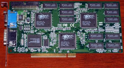 EONtronics DP481 Voodoo 2 3Dfx PCI 12MB