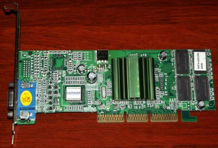 Gainward GeForce 2MX64 32MB PN: V06-81-VGA-GWV06-8 AGP