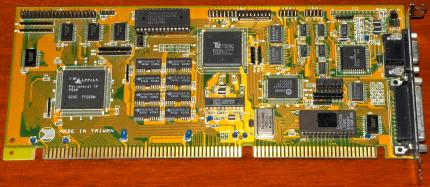 Grafik & I/O Kombi-Controller, Appian Peripheral IF P928 FAST Local-Bus Peripheral Interface Device, VGA TsengLabs International VGA Sync-0 TLI 1991 ET4000AX Labs 1MB, IDE, Floppy & COM-Ports, UMC UM82C862F, AMD Eprom 1986, LBPI ES Nr.003?