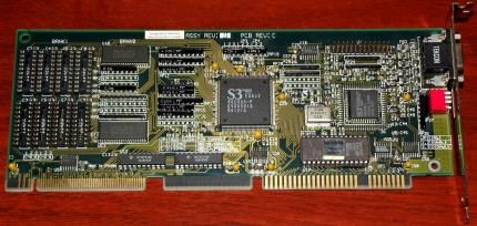 MIRO Crystal 10SD Chipsatz S3 805 VL-Bus