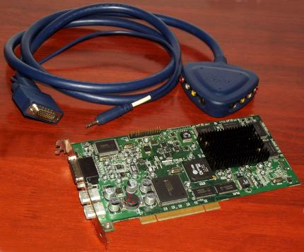 Matrox 7025-02-A RT2500 KIT I Video-Editing Capture-Card, C-Cube DVxpress MX, Intel 21152AB, PN: 63039620183, DV MPEG2 Firewire, Breakout Multimedia Videokabel, Post Production, Canada 2001