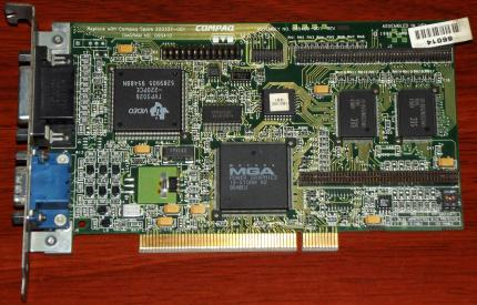 Matrox MGA Power Graphics IS-Storm R2 Compaq Model: 223337-001 Assembly Nr: 005409-001 PCI 1995