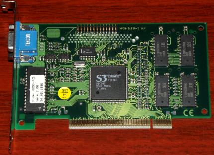 Miro Video 22SD PCI S3Trio64V+ 1996