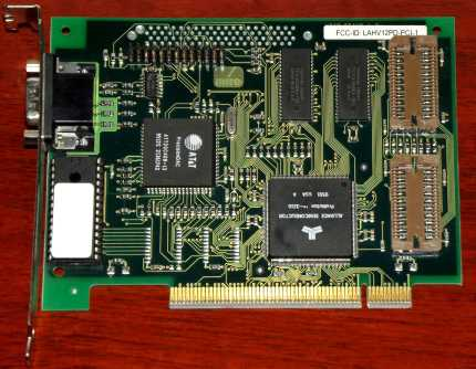 Miro Video 12PD 1995 PCI-2IV12PD-PCX1 Allicance Semiconductor ProMotion 3210