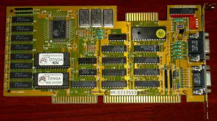 OAK Technology Inc. FCC-ID: IDW37162002 REV. B ISA 1988