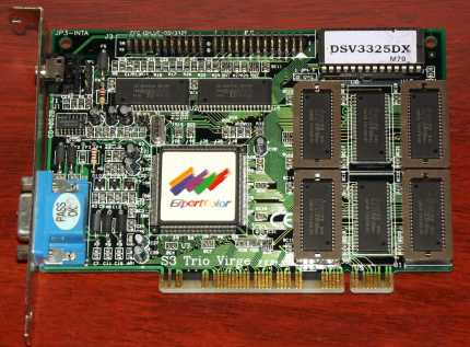 ExpertColor DSV3325DX S3 Trio Virge PCI