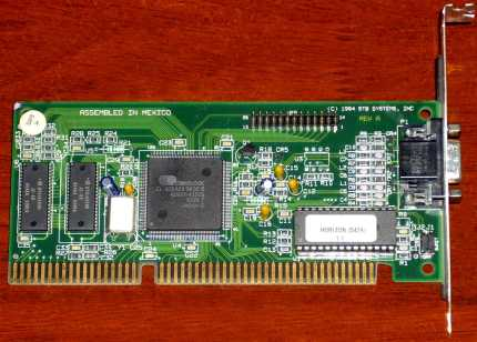 STB Systems Inc. Horizon (5429) Cirrus Logic CL-GD5429 GPU ISA 1994