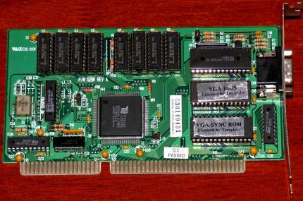 Grafikkarten ISA / VLB / PCI /AGP / PCIe @ Computer-Retro de