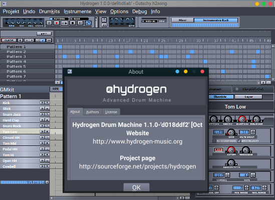 Hydrogen - Drum Machine