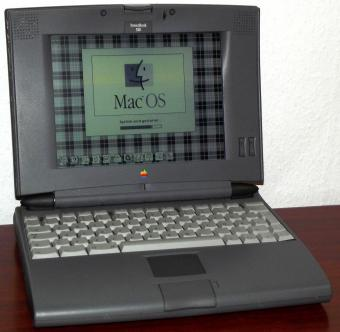 Apple PowerBook 520 (Blackbird LC) Motorola 25MHz 68LC040 CPU, 9.5