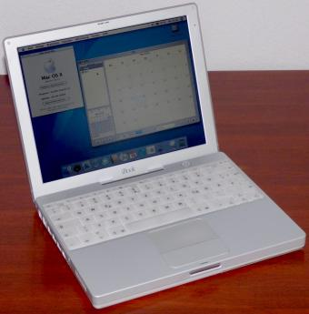 Apple iBook G3 500MHz PowerPC 750 CPU, 12.1
