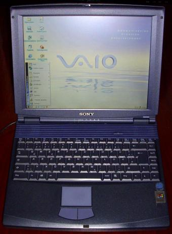 Sony VAIO PCG-FX101 Notebook 13.3