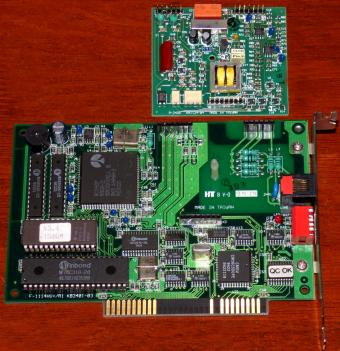Atelco F-1114HV+/R1 KB3401-03 Modem Rockwell 91 BZT: A106-901D ISA 1994