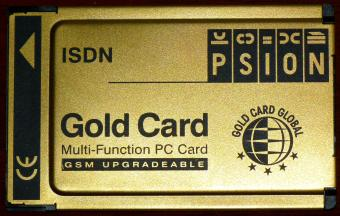 Psion ISDN Gold Card Multi-Function PC Card GSM Upgradeable