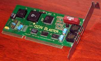 bsc ISDN-Blaster 1993 bsc bueroautomation AG
