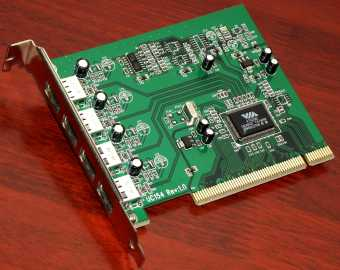 4-Port USB-Karte UC154 PCI mit VIA VT6202 Chipsatz