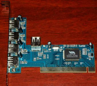 5-Port USB PCI Karte VIA VT6212L