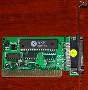 ASP AP138-S AP138B 9918 LPT Drucker/Printer Card ISA 1998