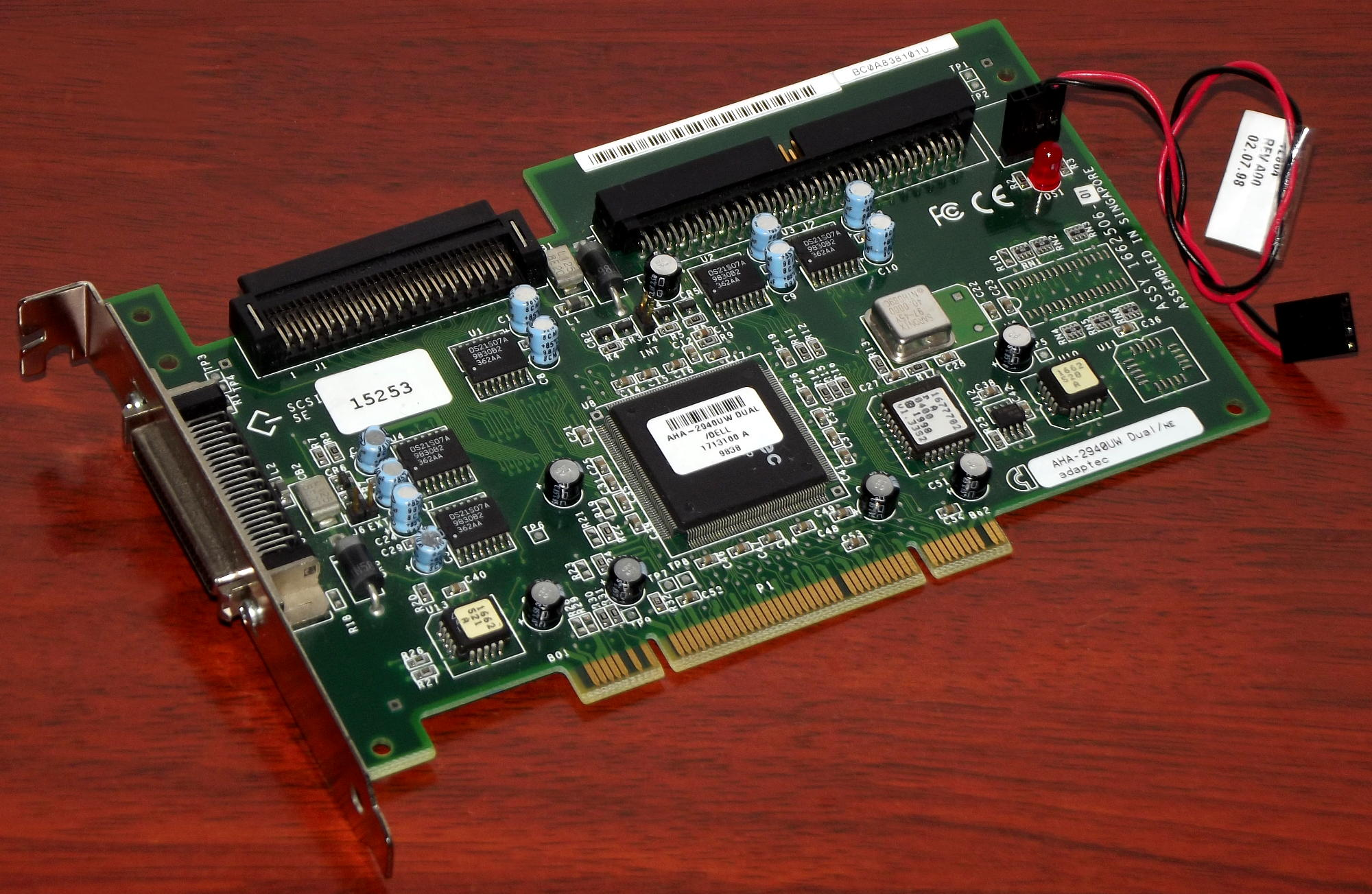 Adaptec AHA-2940UW PCI SCSI Controller - drivers for windows xp