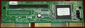 Adaptec AVA-1502 SCSI Host-Adapter, interner Controller FCC-ID: FGT-1502 ISA 1995