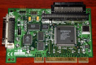 Diamond Multimedia Fireport 40 UW-SCSI-Controller PnP Symbios Logic 53C875J PCI 1997