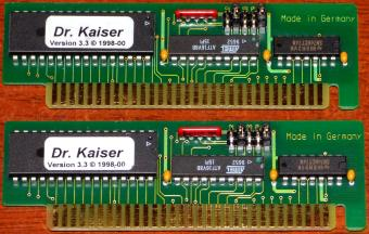 Dr. Kaiser PC-Wächter Karte Version 3.3 Atmel 9652 ISA Germany 1998