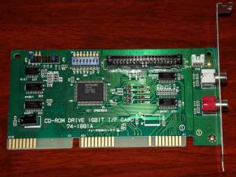 Mitsumi CD-Rom Drive Controller 74-1881A