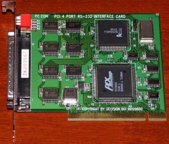 DECISION PCCOM PCI 4 PORT DOWNLOAD DRIVER