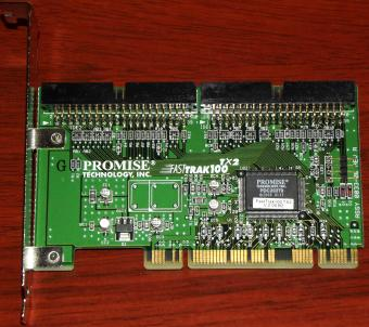 Promise FastTrack 100 TX2 PCI IDE Ultra-ATA Raid Controller 2001