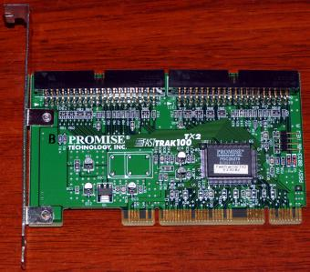 Promise FastTrack 100 TX2 IDE Ultra-ATA Raid Controller PDC20270 PCI 2001
