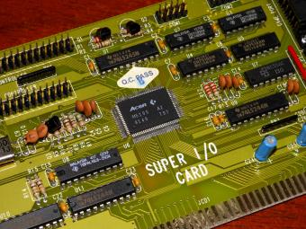 Super I/O Card HDD & Floppy Controller, GamePort, Parallel-Port, Acer M5105 ISA 1991