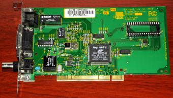 3Com EtherLink XL PCI 10Mbps NIC 3C900B Parallel Tasking II Performance 1998