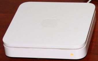 Apple AirPort Extreme Base Station Model A1143 inkl. 12V/1.8A Netzteil Model No. A1202 2006
