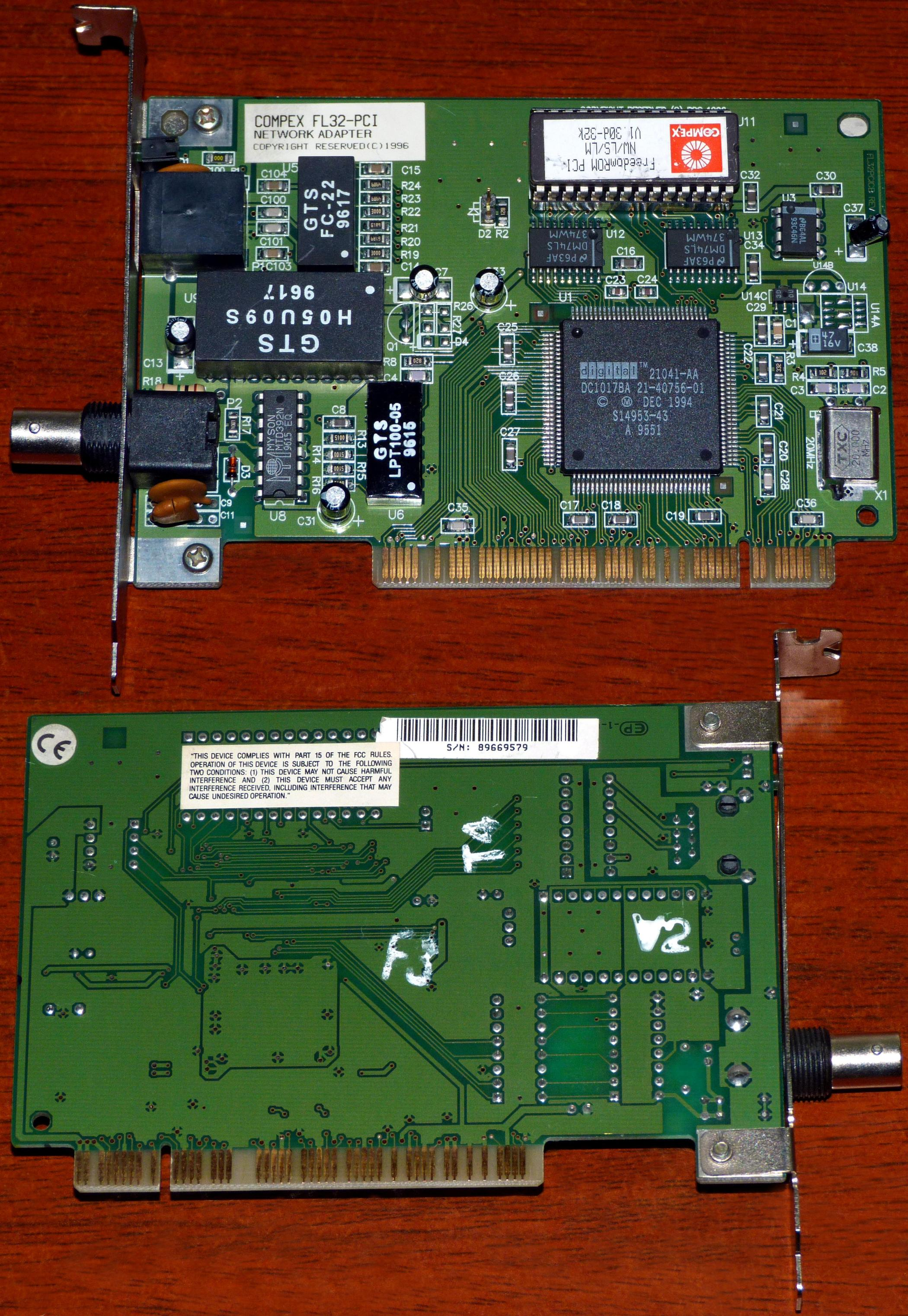 Intel 21140 Based Pci Fast Ethernet Adapter Emulated Driver Download