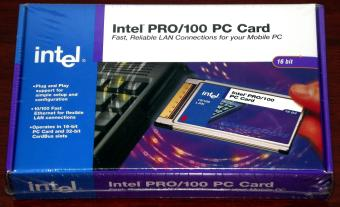 Intel Pro/100 PC Card EtherExpress Mobile Adapter 1999