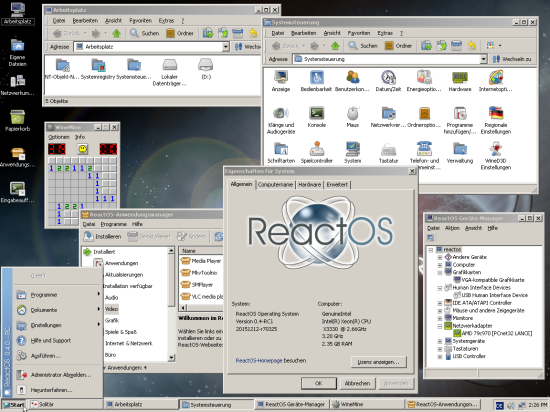 ReactOS 0.4-SVN