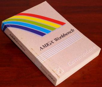 AMIGA 500 Workbench Commodore Handbuch 1990