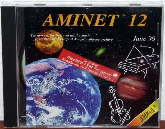 AmiNet 12 CD - Amiga Software Archive June 1996 - OctaMED, Symphonie - Schatztruhe/GTI GmbH