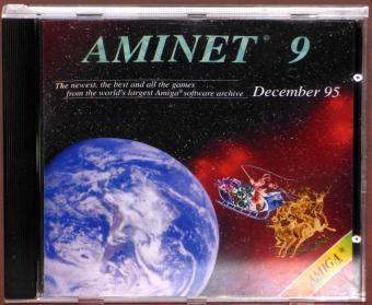 AmiNet 9 AMIGA Software Archive CD-ROM December 1995 Schatztruhe/GTI GmbH Germany